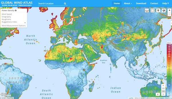Global Wind Atlas - WAsP