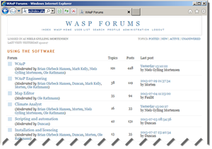WAsP Forums